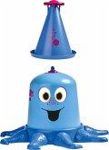 BIG 800076547 - Aqua-Nauti, Wasserspiel-Krake, Kinder-Gartensprenger, Wasserspielzeug