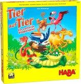 HABA 305520 - Tier auf Tier, Stapelspiel, Geschicklichkeitsspiel