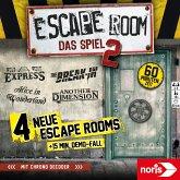Noris 606101891 - Escape Room 2, Grundbox mit 4 neuen Abenteuern