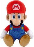 Nintendo Mario, Plüschfigur, sitzend, 21 cm
