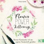 Flower Power Letterings (eBook, PDF)
