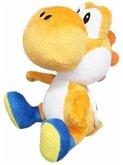Nintendo Yoshi, Plüschfigur, orange, 17 cm