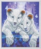 Crystal Art Junge Tiger 21x25 cm