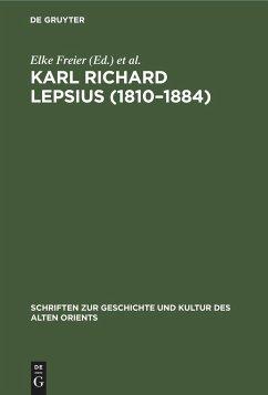 Karl Richard Lepsius (1810-1884)