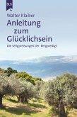 Anleitung zum Glücklichsein (eBook, ePUB)