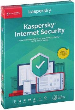 Kaspersky Internet Security 2020 3 PCs 1 Jahr