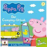 Peppa Pig Hörspiele - Der Camping-Urlaub (und 5 weitere Geschichten), 1 Audio-CD