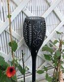 Solarfackel-Gartenstecker mit Flammeneffekt 78 cm ( Kynast Garden )