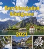 Berchtesgaden Königssee Postkartenkalender 2021