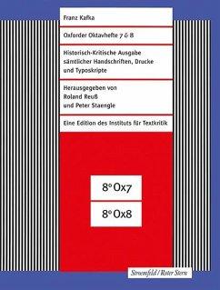 Oxforder Oktavhefte 7 & 8 - Kafka, Franz