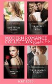 Modern Romance May 2020 Books 1-4: His Secretary's Nine-Month Notice / The Secret Kept from the King / Claiming the Virgin's Baby / The Spaniard's Wedding Revenge (eBook, ePUB)
