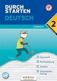 Durchstarten 2. Klasse - Deutsch Mittelschule/AHS - Lernhilfe