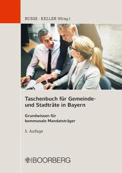 Taschenbuch für Gemeinde- und Stadträte in Bayern (eBook, ePUB)