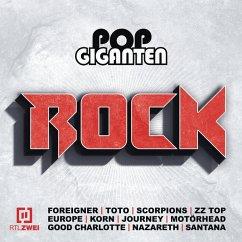 Pop Giganten Rock (RTL II) (3 CDs) - Diverse