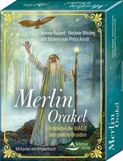 Merlin-Orakel - Entdecke die Magie des großen Druiden - Ruland, Jeanne; Missing, Melanie; Arndt, Petra