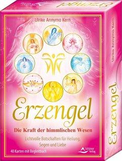 Erzengel - Die Kraft der himmlischen Wesen - Lichtvolle Botschaften für Heilung, Segen und Liebe Kartenset - Kern, Ulrike Annyma