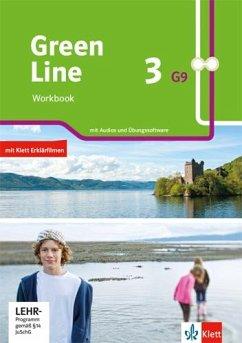 Green Line 3 G9. Workbook mit Audios und Übungssoftware Klasse 7