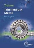 Trainer Tabellenbuch Metall, Lösungen