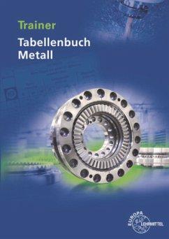 Trainer Tabellenbuch Metall - Molitor, Marcus;Tammen, Volker