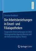 Die Arbeitsbeziehungen in Einzel- und Filialapotheken (eBook, PDF)