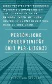 Persönliche Produktivität (eBook, ePUB)