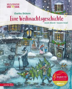 Eine Weihnachtsgeschichte (Mängelexemplar) - Dickens, Charles; Albrecht, Henrik