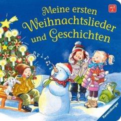Meine ersten Weihnachtslieder und Geschichten (Mängelexemplar) - Nahrgang, Frauke