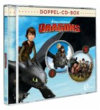 Dragons - Die Reiter von Berk - Dragons-Doppel-Box-Folgen 1+2-Hörspiele, 2 Audio-CD