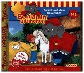 Benjamin Blümchen - Zurück auf dem Bauernhof, 1 Audio-CD