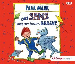 Das Sams und der blaue Drache / Das Sams Bd.9 (3 Audio-CDs) - Maar, Paul