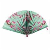 Fiesta And Siesta - Folding Paper Fan - Bloom