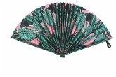 Fiesta And Siesta - Folding Paper Fan - Jungle