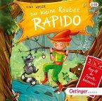 Angriff der Sportskanonen / Der kleine Räuber Rapido Bd.2 (2 Audio-CDs)