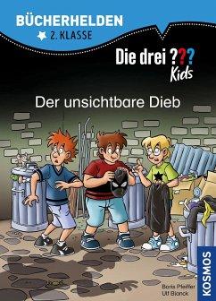 Die drei ??? Kids, Bücherhelden 2. Klasse, Der unsichtbare Dieb - Blanck, Ulf; Pfeiffer, Boris