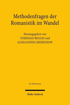 Methodenfragen der Romanistik im Wandel (eBook, PDF)