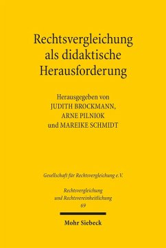 Rechtsvergleichung als didaktische Herausforderung (eBook, PDF)