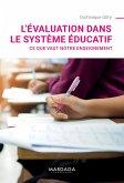 L'évaluation dans le système éducatif (eBook, ePUB)