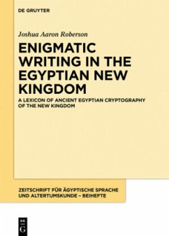 A Lexicon of Ancient Egyptian Cryptography of the New Kingdom - Roberson, Joshua Aaron