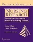 Resource Manual for Nursing Research