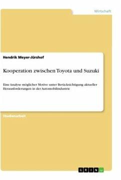 Kooperation zwischen Toyota und Suzuki - Meyer-Jürshof, Hendrik