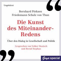 Die Kunst des Miteinander-Redens (MP3-Download) - Pörksen, Bernhard; Schulz von Thun, Friedemann