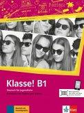 Klasse! B1. Kursbuch mit Audios und Videos