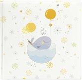 Goldbuch Little Whale blue 25x25 60 weiße Seiten Babyalbum 24766