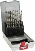 Bosch Metallbohrer-Set HSS-G mit Box 19 tlg. 1,0-10,0 mm