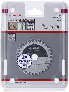 Bosch Kreissägeblatt ST MM H 85x15 T30