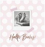 Goldbuch Hallo Baby rosa 30x31 60 weiße Seiten 15183