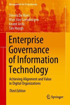 Enterprise Governance of Information Technology (eBook, PDF) - Grembergen, Wim Van; De Haes, Steven; Joshi, Anant; Huygh, Tim