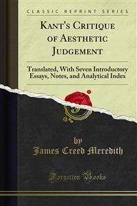 Kant's Critique of Aesthetic Judgement (eBook, PDF)