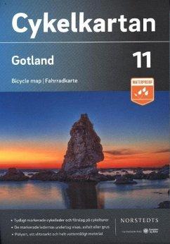 Cykelkartan Norstedts Radwanderkarte Gotland