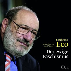 Der ewige Faschismus, 2 Audio-CD - Eco, Umberto